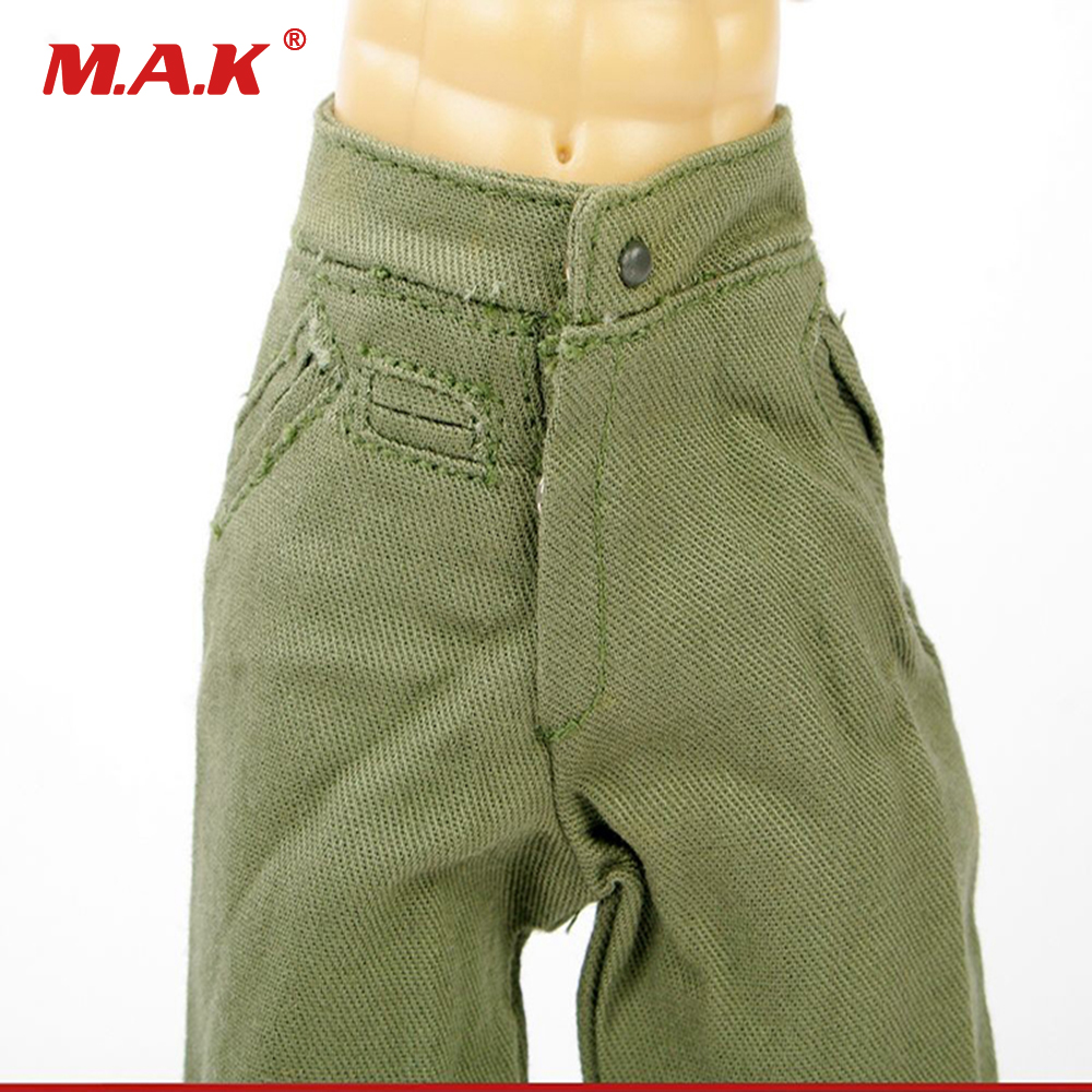 "1//6 Scale Original Dragon WWII German Pants For 12/"" Action Figure"
