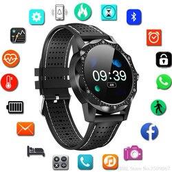 2019 nowy zegarek mężczyźni zegarki Top marka luksusowe sławny zegarek na rękę mężczyzna Wrist Watch dla mężczyzn zegar IP68 wodoodporna Hodinky mężczyźni Relog|Zegarki sportowe|   -