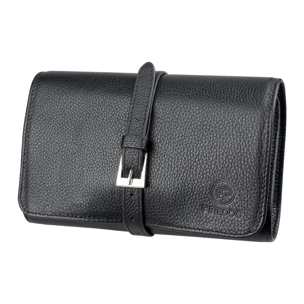 FIREDOG Smoking Tobacco Pouch Genuine Leather Pipe Case Bag tabak zakje for Rolling Smoking Tool Holder pochette tabac a rouler