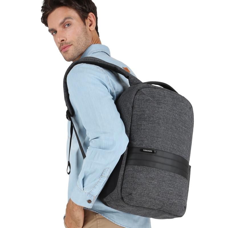 1ff4384d2909 Kingsons Men Backpack Shoulder Bags in Men s Casual Daypacks for Business  Laptop Backpack Male Mochila USB Recharging Travel Bag-in Backpacks from  Luggage ...