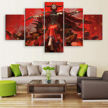 Ravnica Allegiance Game Modern Home Decor HD Print Wall Art Canvas For Living Painting 5 Piece