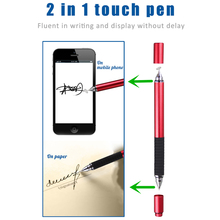 2in1 professional pen for drawing Plate style stylus touch pen for mobi