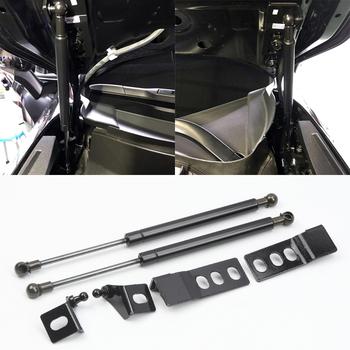 Dla Toyota RAV4 XA50 2019 2020 samochodów Auto remont przednia maska okapy pokrywa silnika siłownik hydrauliczny Shock Bar 1 zestaw tanie i dobre opinie HIGH FLYING Metal Bagażniki dachowe i pudełka 0 65kg Hydraulic Hoods Strut 35cm