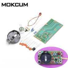 FM Frequency Modulation Wireless Microphone Module DIY Kit FM Transmitter Board Parts Kits Simple