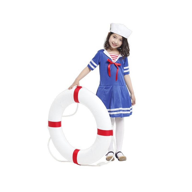 Retail New Children halloween costumes,girls Sweet heart little sailor costumes cosplay FOR kids