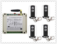 Latest DC12V 24V 36V 48V 10A 2CH Wireless Remote Control Switch System 1pcs Receiver 4pcs 2