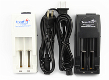 TrustFire Li-ion Battery Charger 4.2V/3.0V TR-001 Double Lithium Batteries Charger(18650/18350/16340/14500)