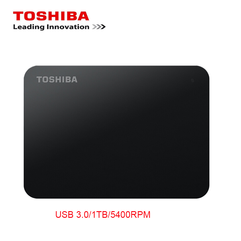 New Toshiba 1TB External Mobile HDD 2.5 USB 3.0 5400RPM Hard Drive Disk1000g Backup for Laptop/Computer PC Storage Server