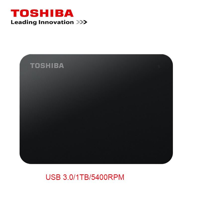 Toshiba 1TB 500GB External Mobile HDD 2.5