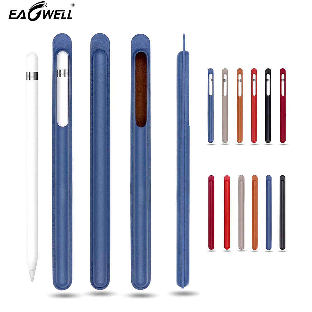 Case For Apple Pencil PU Leather Skin Case Sleeve Bag For Tablet Touch Stylus Pen Protective Cover Holder Pouch Anti-knock Bag new for ipad pencil nib cover tablet touch pen kit soft silicone for apple pencil cap holder case cable adapter anti lost strap
