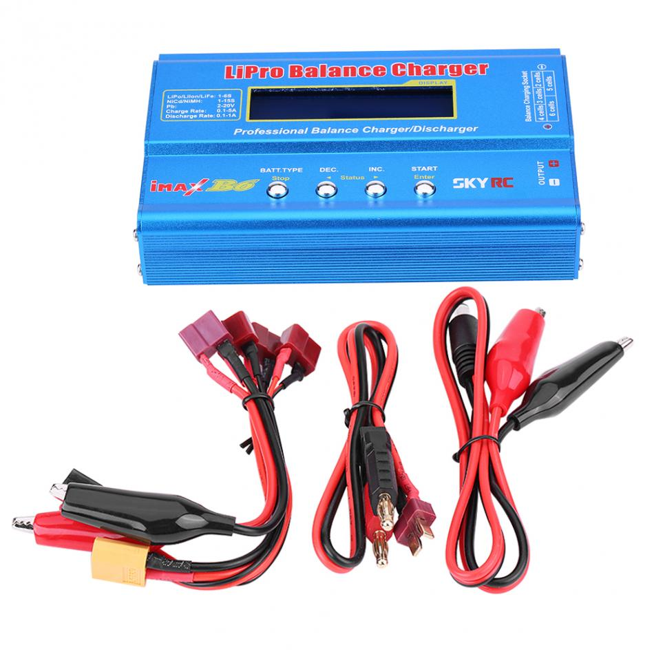 RC AC DC Balance Charger Discharger For RC Helicopter Aircraft Intelligent font b Battery b font