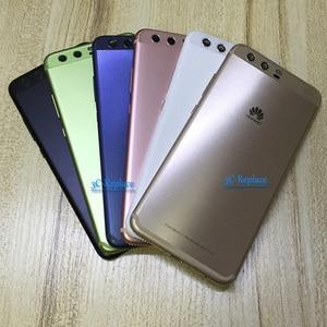Image 4 - Huawei 社 P10 プラス P10Plus VKY L29 VKY AL00 VKY L29A VKY L09 バックバッテリーカバードアハウジングケース背面ガラス部品