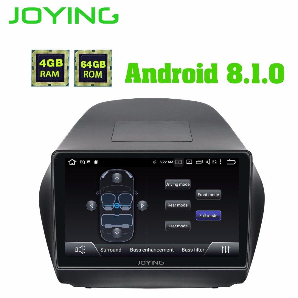 """JOYING 10 """"2 din アンドロイド 8.1 Gps IX35 ツーソン 2011 2016 ヘッドユニット 4 ギガバイトオクタコア autoradio ステレオマルチメディアプレーヤー  グループ上の 自動車 &バイク からの 車用マルチメディアプレーヤー の中 1"""