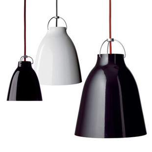 1pc Modern Caravaggio Suspension black/white pendent Light lighting sitting room купить