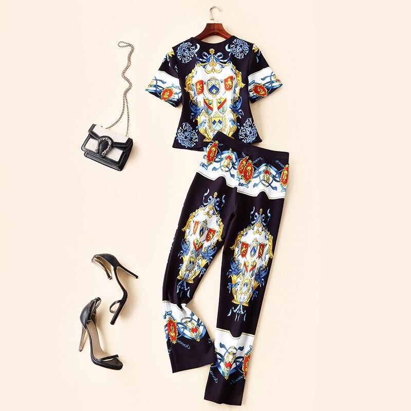 Vêtements Style Marque Ensembles Européenne Luxe Partie Ws02213 Femmes Design Mode Piste De 2019 q6PTFw