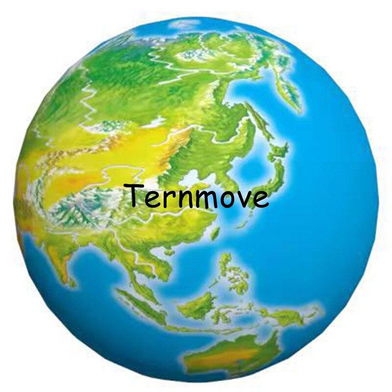 Terre gonflable, grands globes gonflables du monde à vendre globe gonflable livraison gratuite éducation géographique publicité jouet - 6