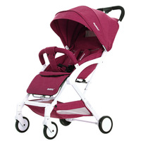 Portable baby stroller lightweight stroller can sit lie baby products can board the aircraft