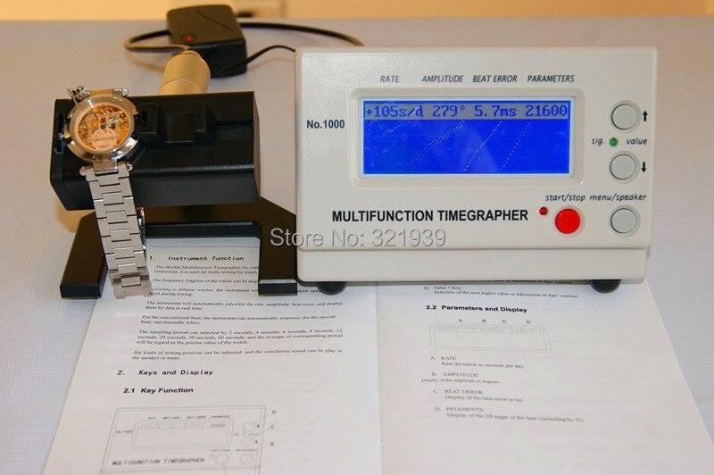 Timegrapher Assista Tester Máquina Multifunction Timegrapher 1000