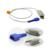 Cuidados de saúde 2016 Nova Chegada Ajuste Compatível para sensor de Spo2 da Nellcor, adulto sensor de Clip de Dedo, 1 m 9 pinos Fit para Homens e Mulheres