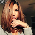 36 Brazilian Virgin Hair Short Ombre Human Hair Wig Two Tone Bob1B T#30 Ombre Lace Front Full Lace Human Hair Wig For BlackWomen