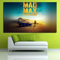 madmax furyroad film poster art lovely day Portrait Europe Frameless drawing Home decor Canvas Oil Painting Spray art Artist