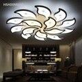 Креативный Стильный цветочный потолочный светильник современный простой акриловый потолочный светильник для гостиной спальни для дома и ...