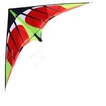 Профессиональный 1,8/2,4 м Swift power Stunt Kite двойной линии начальный уровень для начинающих хороший Летающий