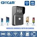 Hi3518E wi-fi дверной звонок Ip-камера 1.0MP HD H2.64 720 P IR-CUT беспроводной дверной звонок поддержка 5 пользователей 2.1 мм Ночь объектив Vision