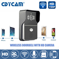 Hi3518E wifi doorbell IP Camera H2.64 1.0MP HD 720P IR-CUT wireless doorbell support 5 users 2.1mm lens Night Vision Waterproof