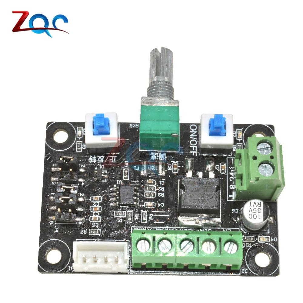 8~24V 12V Stepper Motor Speed Controller Module Pulse Signal Generator Driver