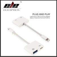New For Lightning To USB 3 Camera Reader Adapter For IPhone 5 5s 6 6s 7