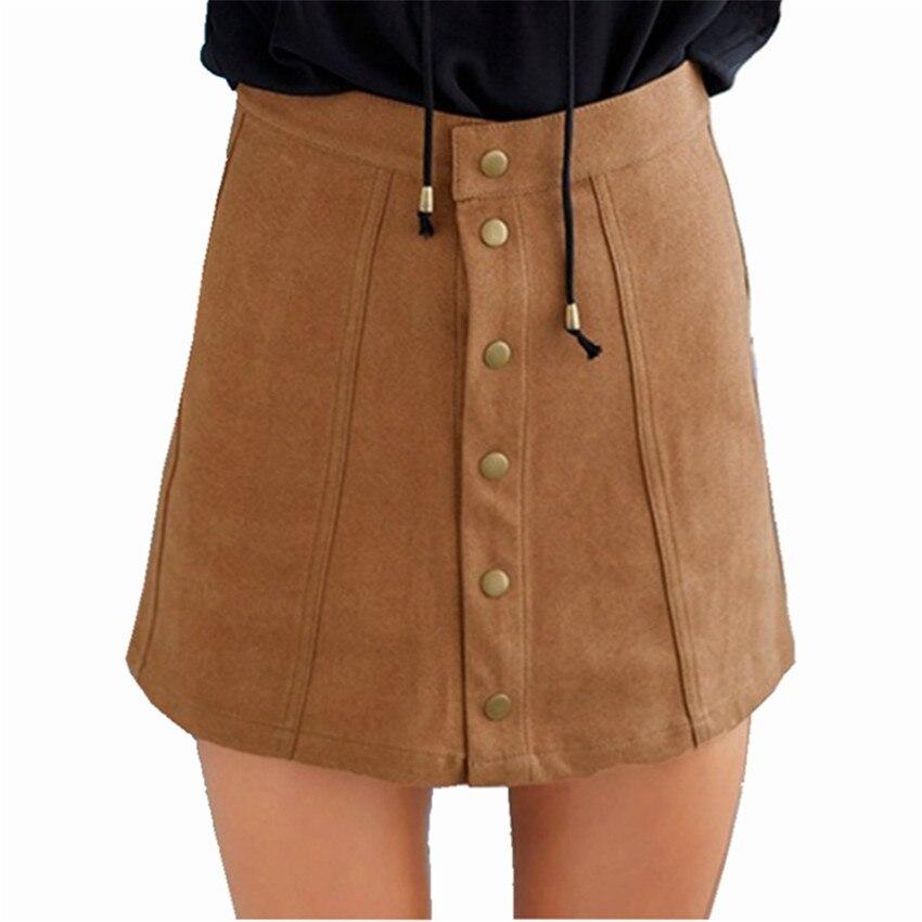 HTB1QTHqPpXXXXa2aXXXq6xXFXXXJ - Spring Button Suede Leather Skirts JKP058