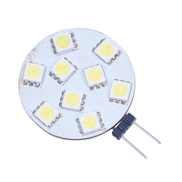 Day Warm White 90 Lumen G4 Base 9 SMD LED Bulb 12V DC