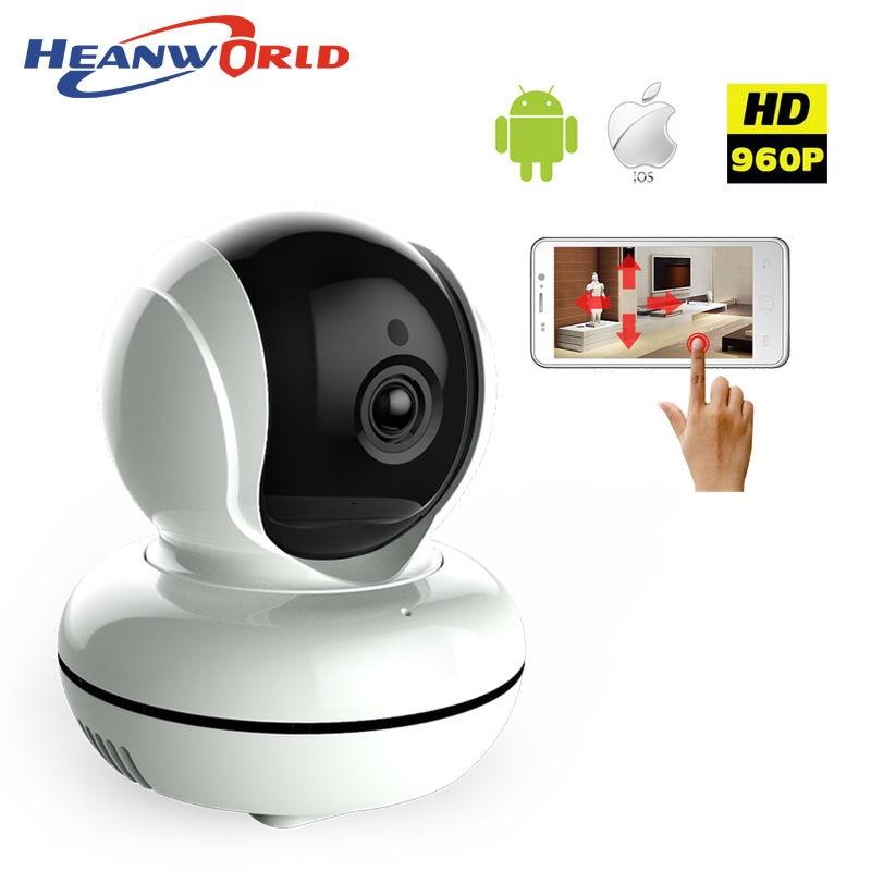 ФОТО 960P mini WIFI IP Camera wireless CCTV video Camera Baby Monitor Night Vision Audio Pan/Tilt SD Card Surveillance Network IP cam