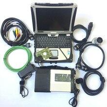 Звезда C5 SD подключения компактный 5 инструмента диагностики с Star диагностическое программное обеспечение HDD 03/2019 последняя версия военные cf19 ноутбука