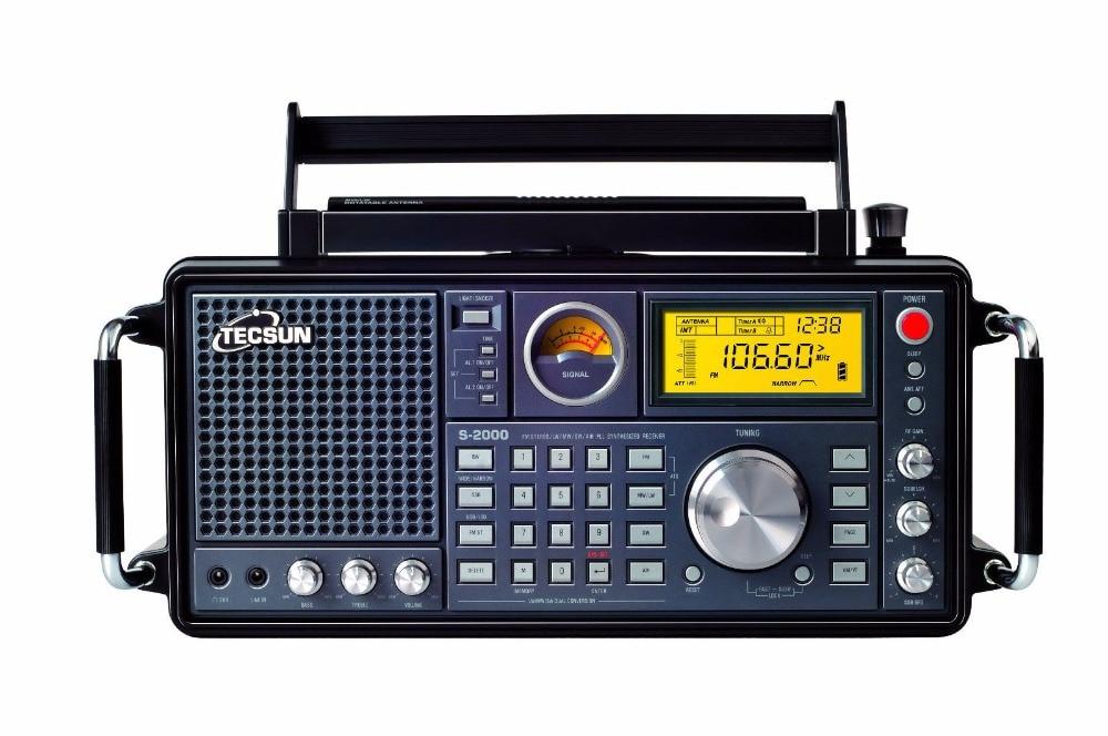 TECSUN S2000 PLL Dual Conversion AM FM MW LW SW SSB Aircraft Band Radio Receiver