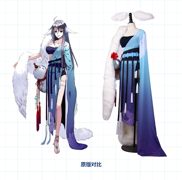 Home Demon Fox Fairy Tushanyaya Ancientry Dress Uniform Cosplay Costume For Women Free Shipping Anime