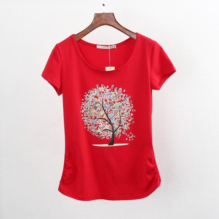 HTB1QTIrQpXXXXaQaXXXq6xXFXXXY - Summer clothing short-sleeve T-shirt female casual shirts
