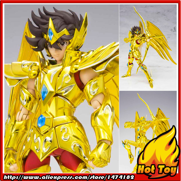 Original BANDAI Tamashii Nations Saint Cloth Myth Action Figure - Sagittarius Seiya from Saint Seiya Omega japan anime saint seiya original bandai tamashii nations d d panoramation ddp action figure sagittarius aiolos
