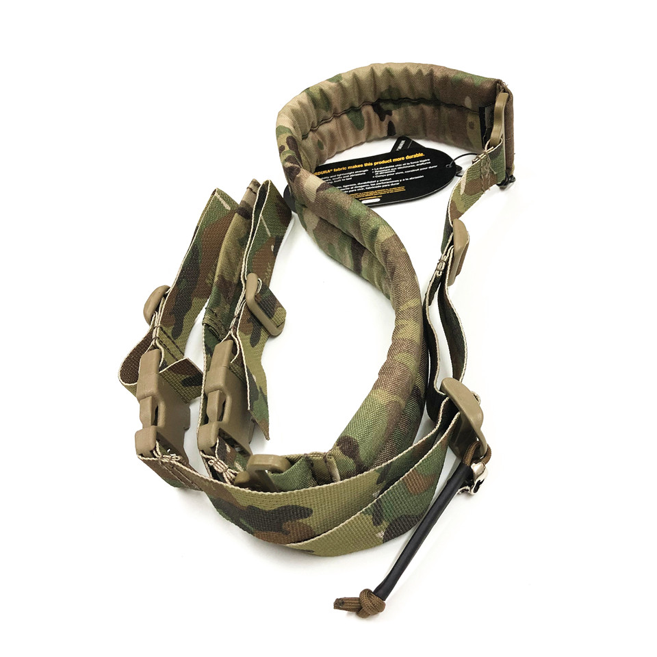 TB FMA New Quick Adjust Padded 2 Point Sling Multicam Black for IPSC  Airsoft Military Gun Sling Gear Paintball Equipment|Hunting Gun Accessories| |  - title=