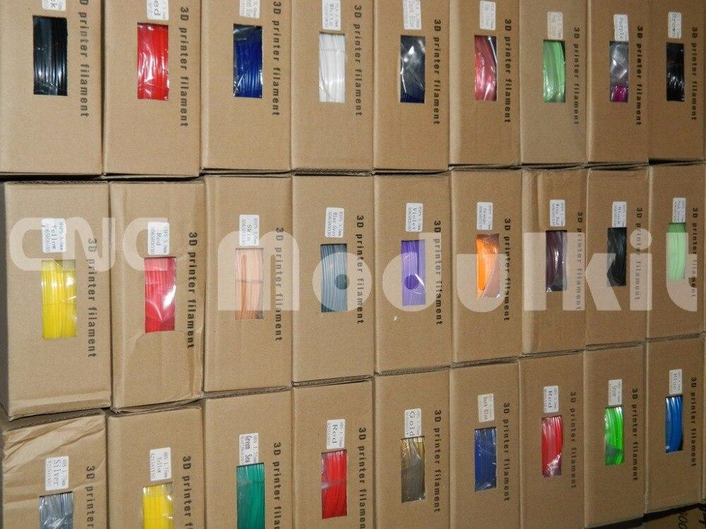 ABS PLA 1.75mm 3mm Roll 1 kg Plastic 3d-printer Filament Rubber Verbruiksartikelen Milieu Materiaal 20 Colours Supply CNC MODULKIT