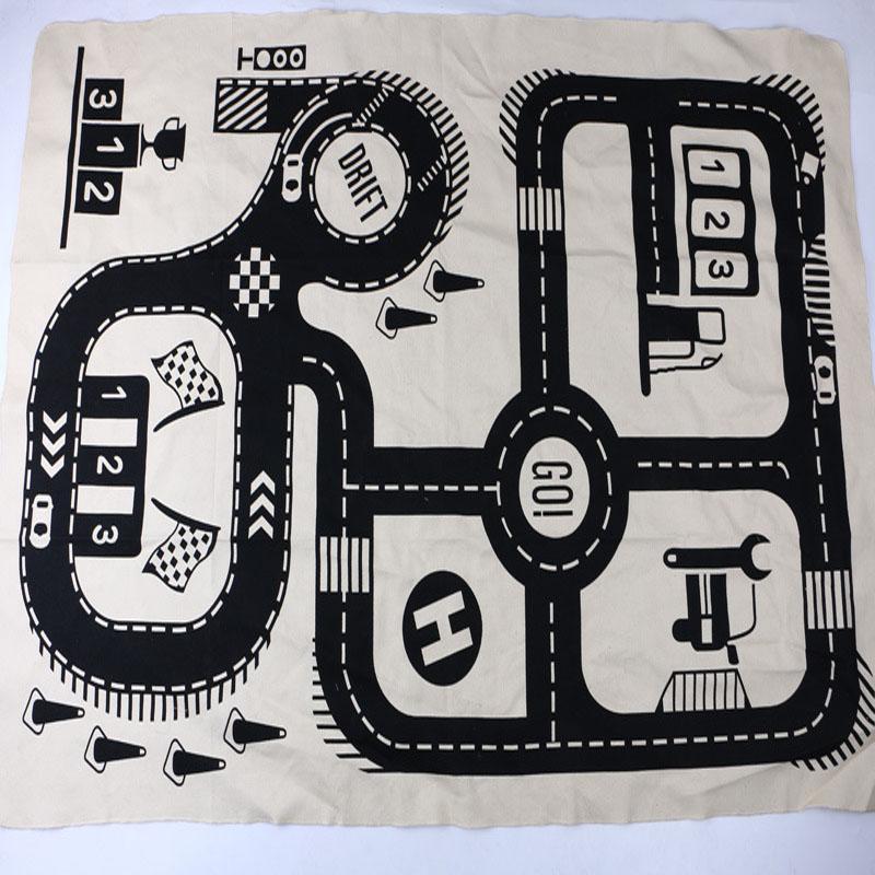 2018 játék matrac Baby játékok Közúti nyomtatott szőnyeg - Csecsemőjátékok