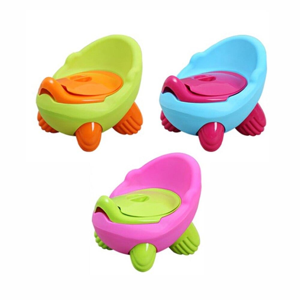 3 Color Portable Lovely Safety Children Baby Potty Training Boys Girls Toilet Seat Potty ...