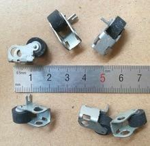 цена на 6Pieces/Lot Wheel Diameter:10mm Pressure Belt Wheel Pulley Recorder Movement Accessories