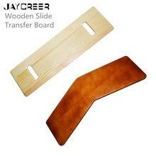 JayCreer деревянный лесоспуск передаточная плата, 440 фунтов лёгкий нейлоновый трос Ёмкость сверхмощный слайд Панели для передачи пожилых людей и инвалидов