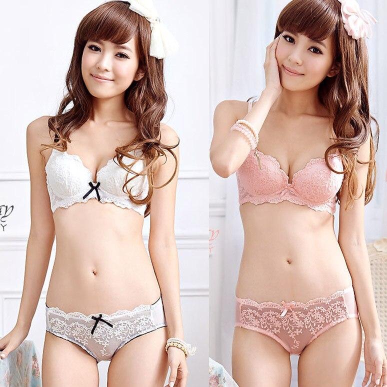 Aliexpress.com : Buy Fashion Cute White/Pink Women Push Up Bra ...