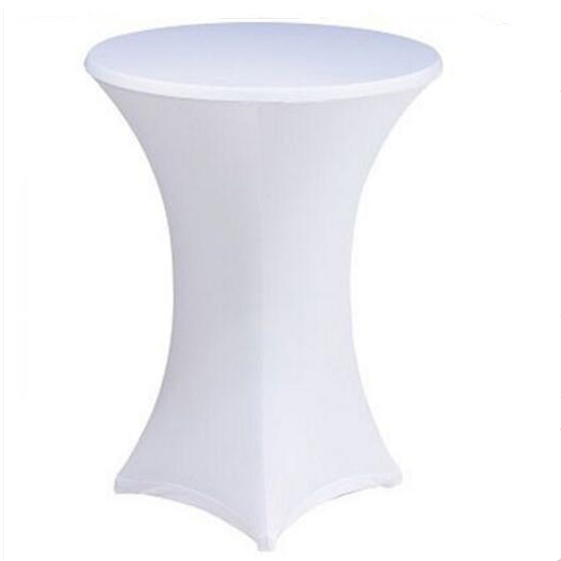 10 Lycra Stretch Cocktail Poseur Dry Bar Spandex Table Cover Cloth Wedding Party