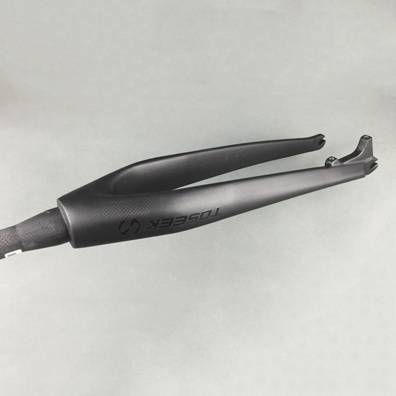 Biçikleta malore e ngurtë pirun e ngurtë 3K Fibër karboni të - Çiklizmit - Foto 4