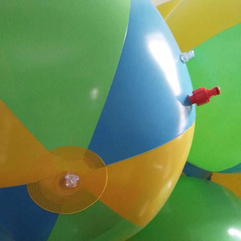 Водные наружные летние игрушки мяч надувной и бассейн плавательный спринклер брызг воды Детский пляж