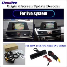 Liandlee Car Original Screen Update System For BMW X3 G01 EVO Rear Reverse Parking Camera Digital Decoder Display Plus